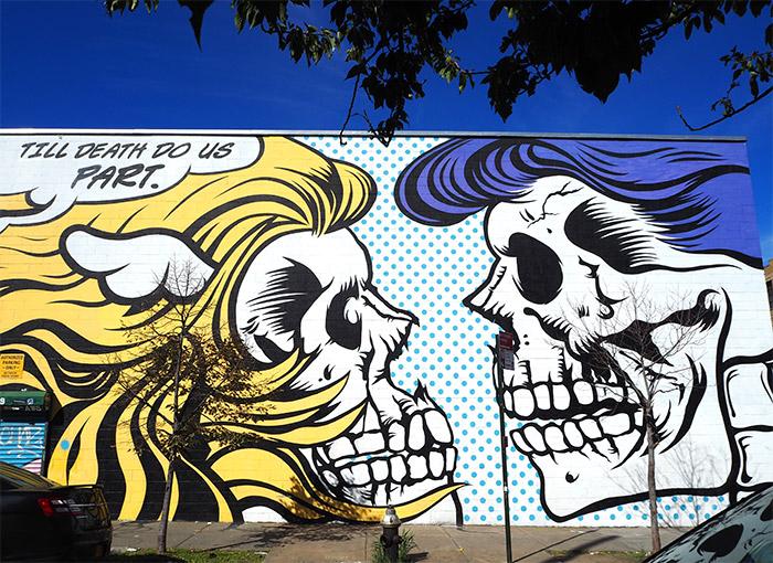 DFace Bushwick street art
