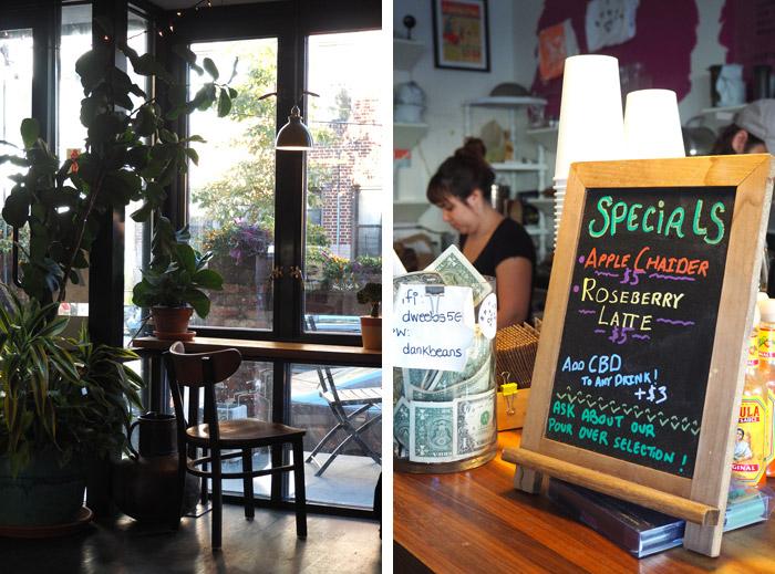 bushwick dweebs coffee shop