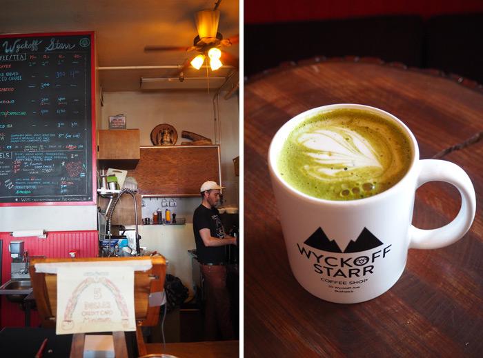 bushwick wyckoff cafe matcha