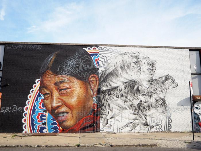 Li Hill bushwick art mural