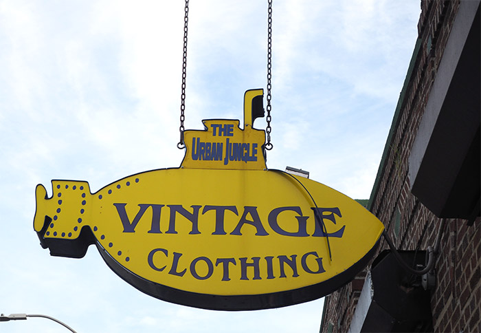 urban jungle vintage clothing bushwick