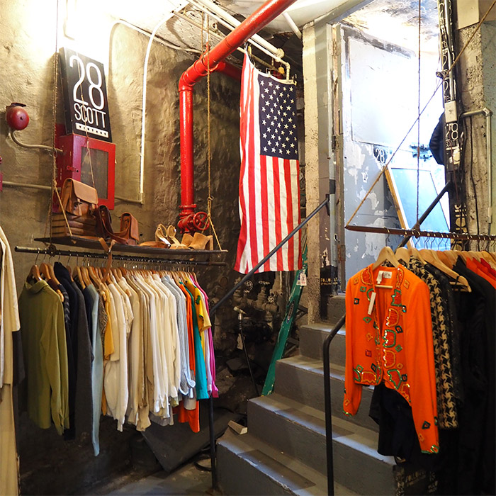 bushwick vintage clothes shop