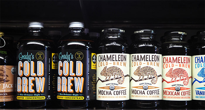 cold brew coffee bottle bushwick