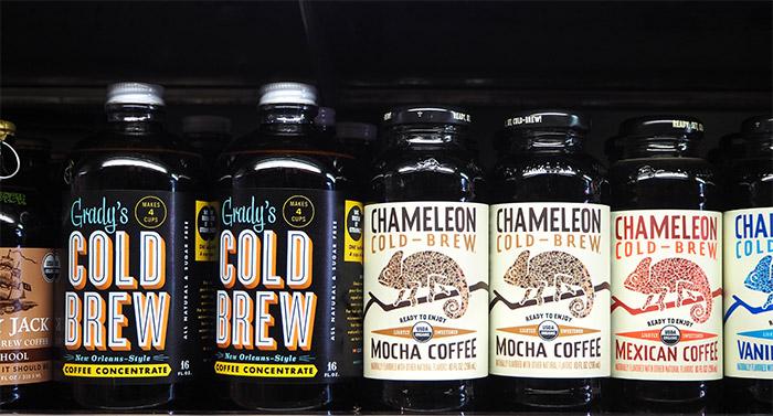 cold brew coffee bottle bushwick