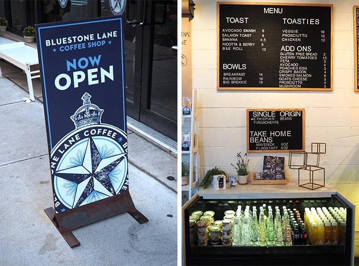 bluestone lane coffee shop dumbo