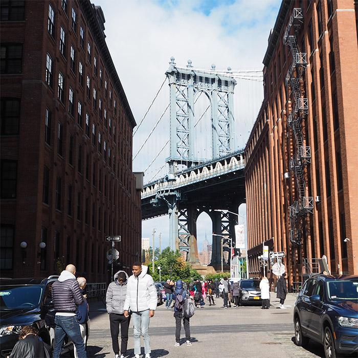 dumbo manhattan bridge brooklyn