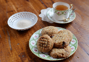cookies beurre cacahouete recette