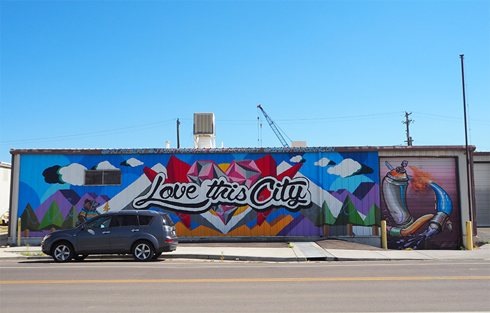 Denver Love This City in RiNo
