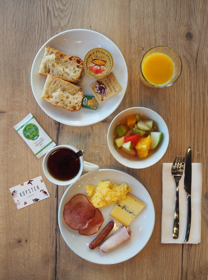 hotel kopster petit dejeuner