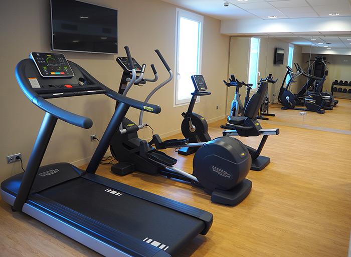 kopster hotel salle sport