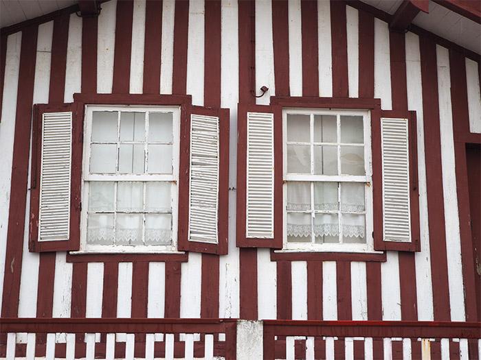 costa nova maisons rayures portugal