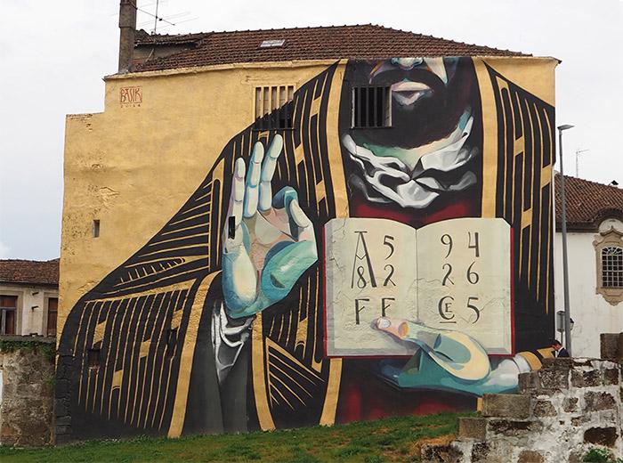 BASIK street art viseu portugal