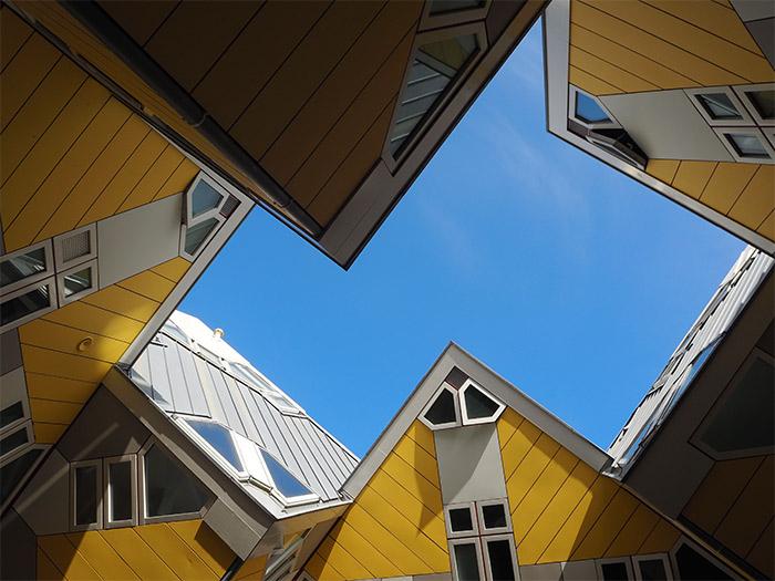 Rotterdam maisons cube Piet Blom