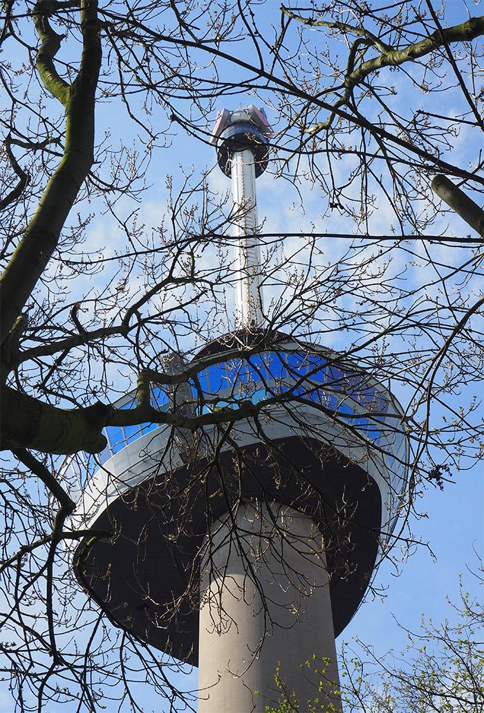Rotterdam tour observation Euromast