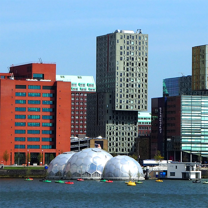 Rotterdam bulles architecture