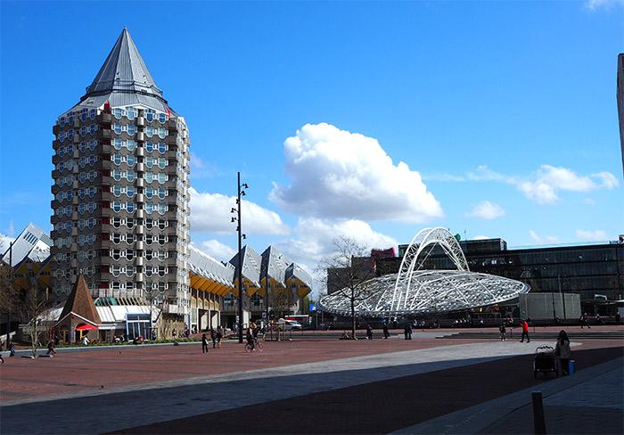 tour piet blom Rotterdam