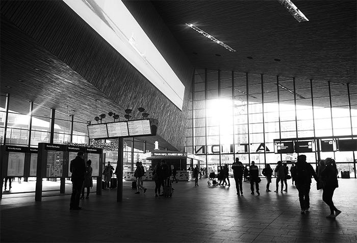 gare centrale Rotterdam