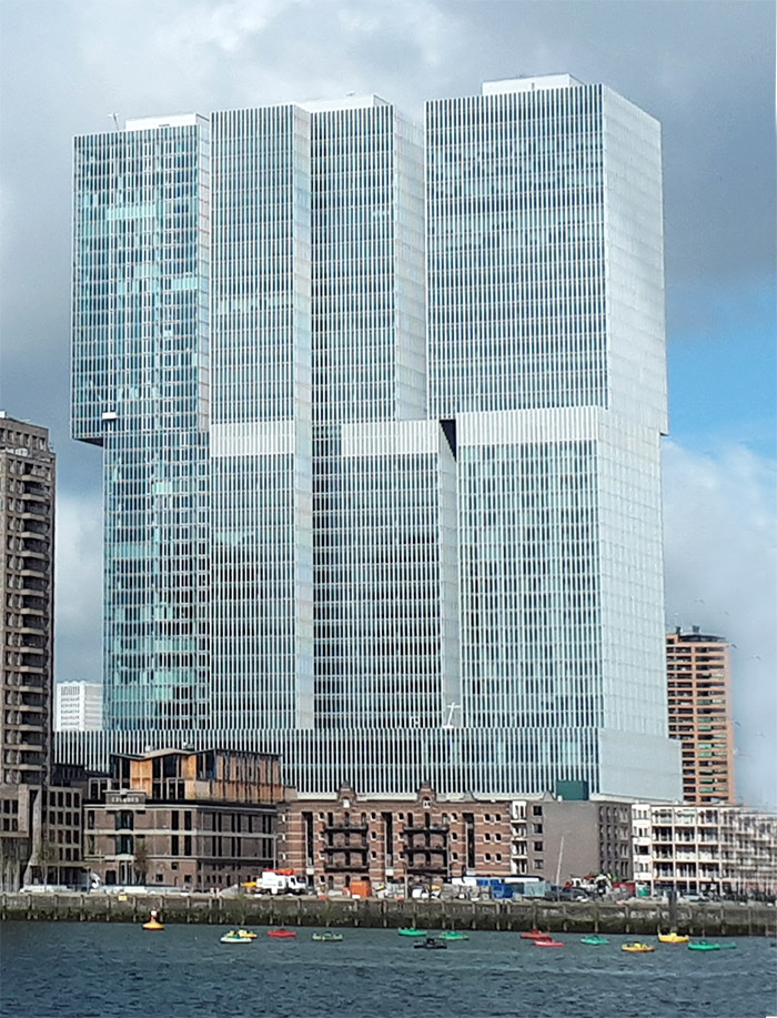 gratte ciel rotterdam architecture