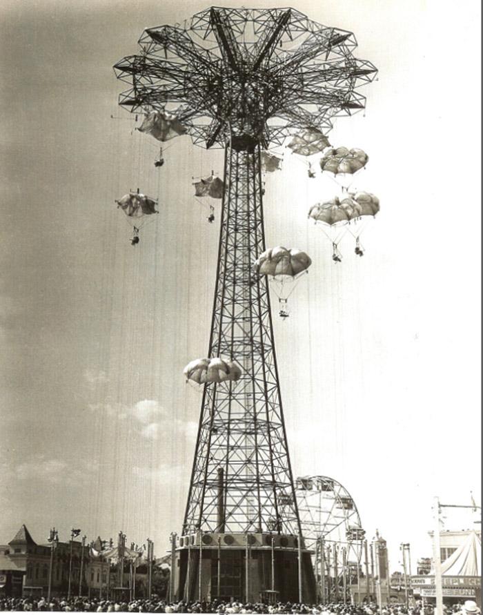brooklyn parachute coney island