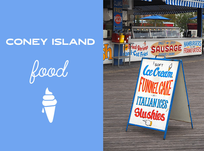 coney island food ice cream