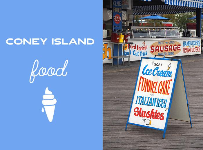 coney island food ice cream