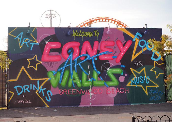 brooklyn coney art walls