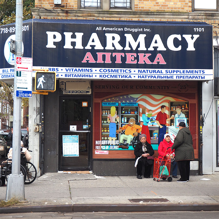 brighton beach russe pharmacie