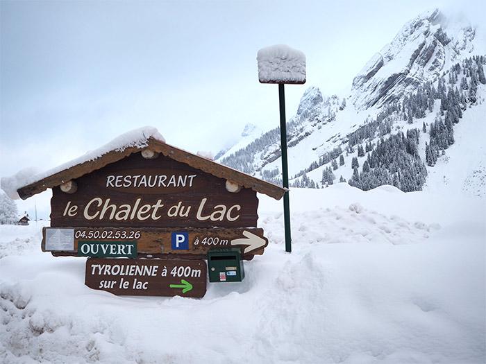 la clusaz chalet lac haute savoie