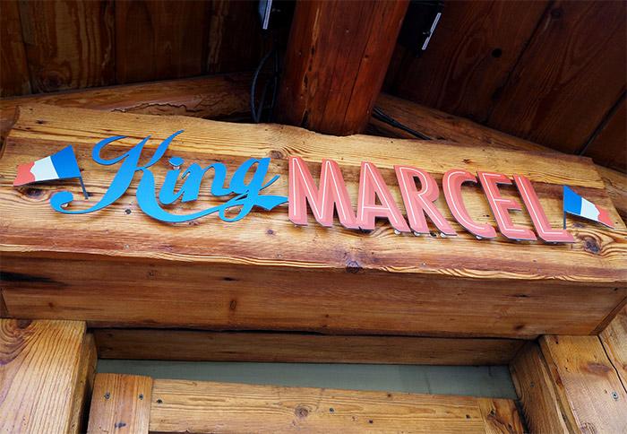 restaurant king marcel burgers la clusaz