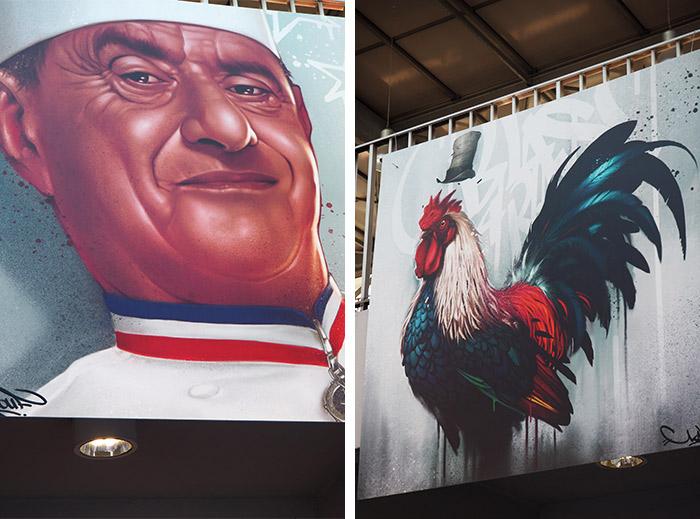 kalouf art halles lyon zoo art show bocuse