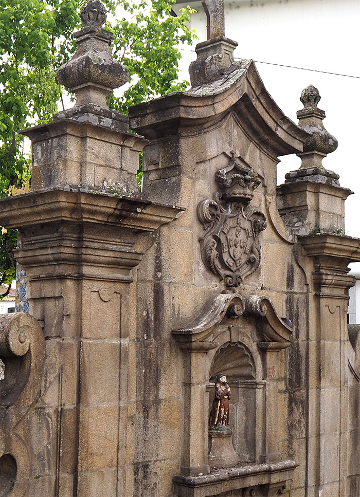 saint francisco fountain viseu
