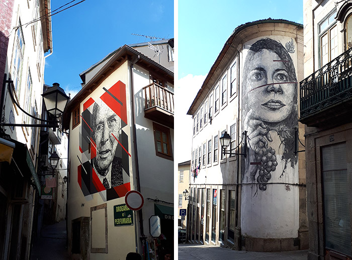 Viseu street art portugal