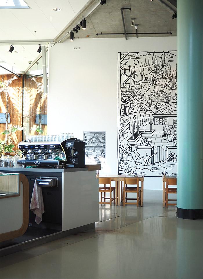 Het Nieuwe Instituut cafe