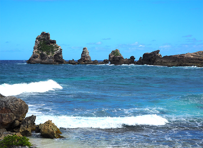 guadeloupe point chateaux