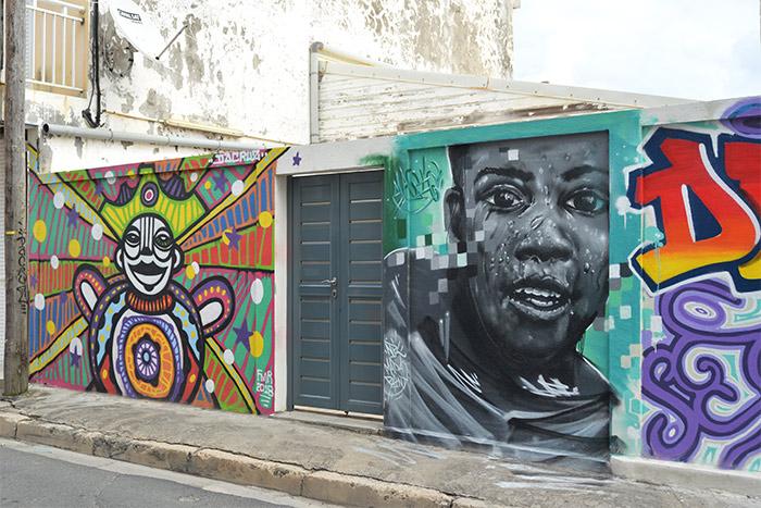 street art le moule guadeloupe