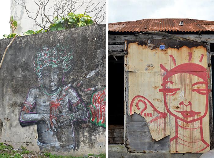 guadeloupe le moule street art
