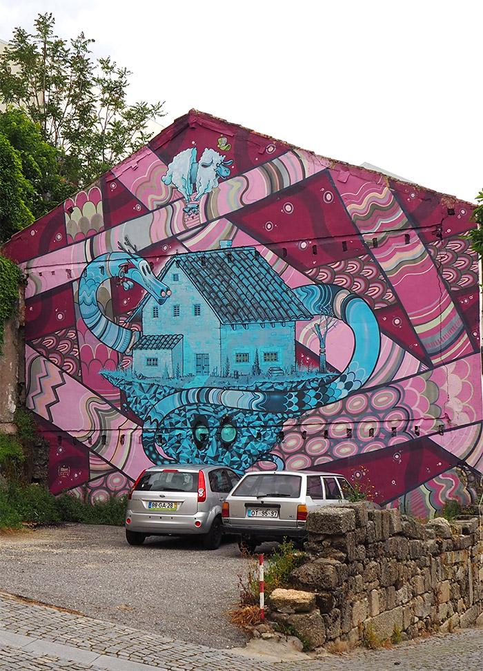 street art covilha portugal