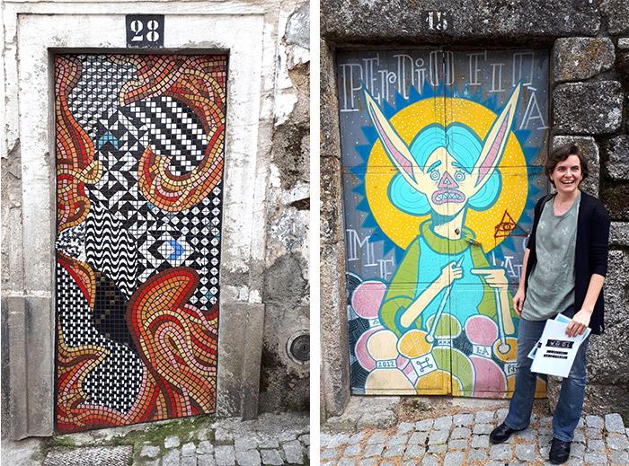 wool urban art festival street covilha
