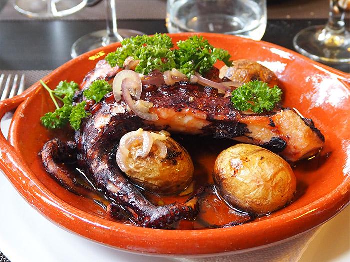 covilha poulpe restaurant paco 100 pressa