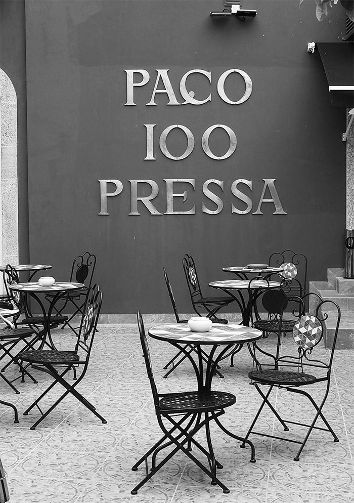 paco 100 pressa restaurant covilha