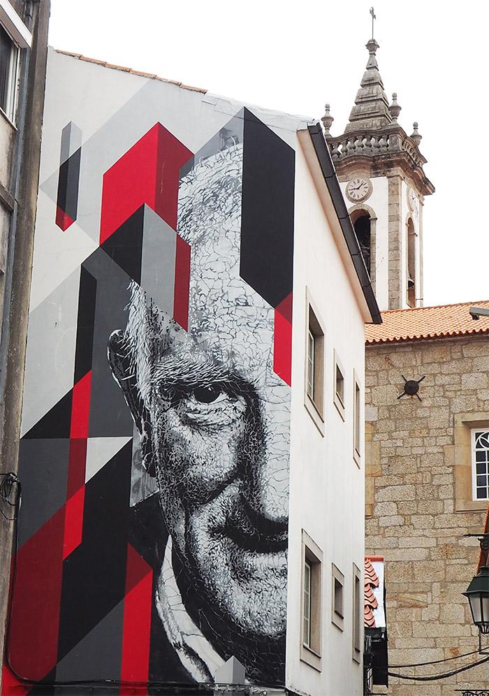 Portugal Covilha street art