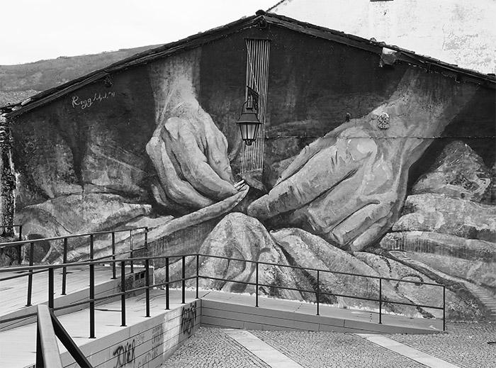 covilha street art