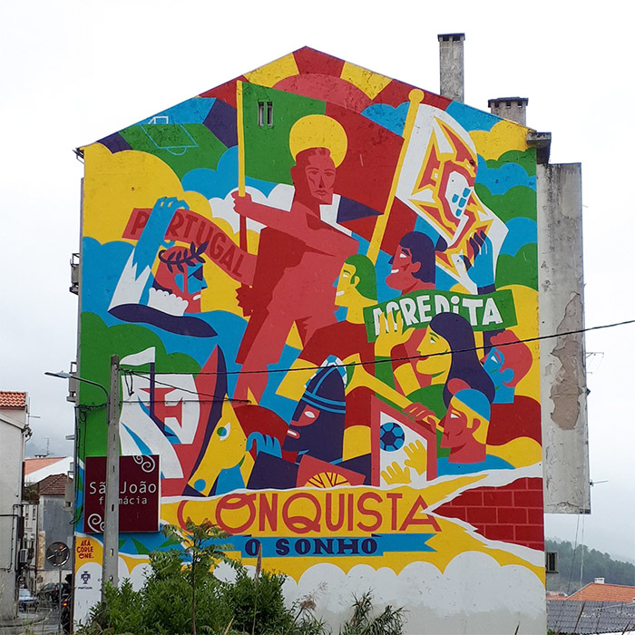 covilha street art portugal