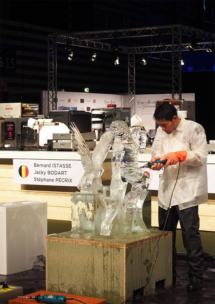 sirha 2019 sculpture glace