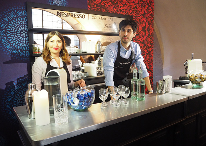 sirha atelier nespresso cocktails