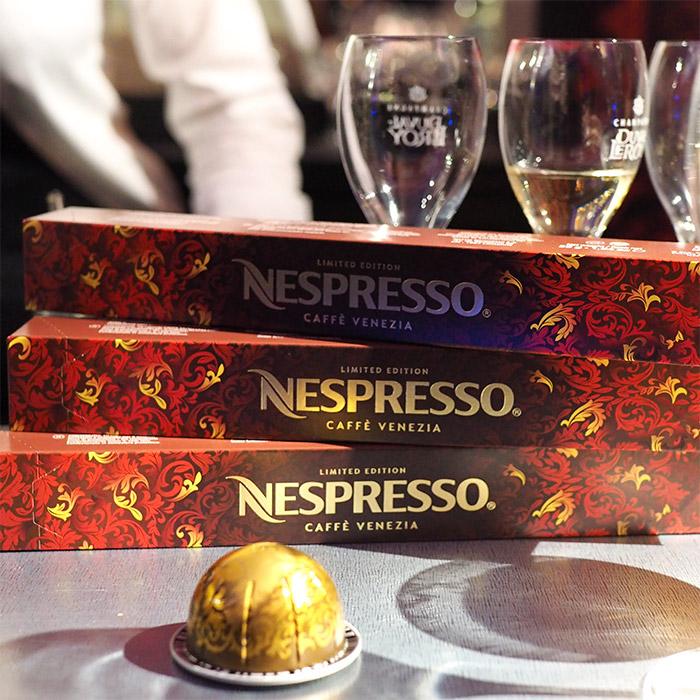 nespresso cafe venezia