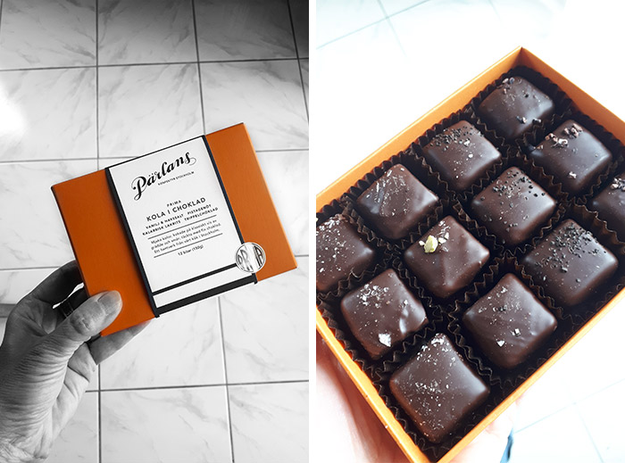 caramels chocolat Pärlans