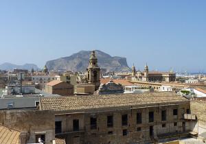 vue toits palerme sicile