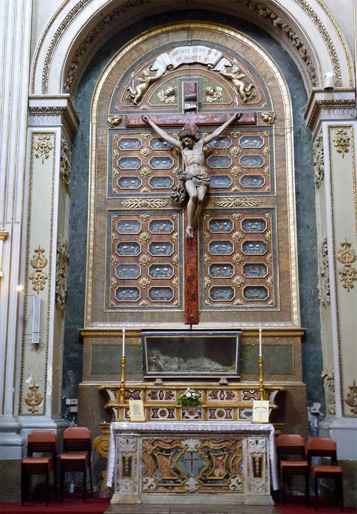 santa maria della pieta palerme christ