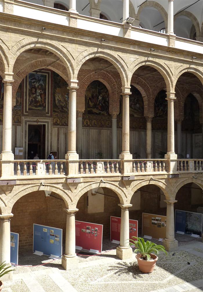 palais des normands palerme sicile